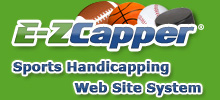 E-ZCapper.com - Sports Handicapping Web Site System